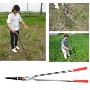 【限定クーポン】立作業用下刈鋏 刈太郎 YZ-550|hl1
