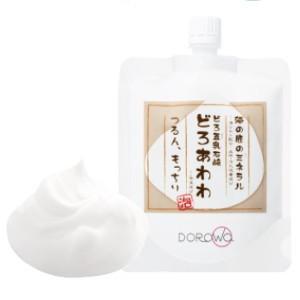 【どろ豆乳石鹸 どろあわわ 110g】クッション性の高い濃密な泡が特徴のどろあわわ。【成分】水、ベン...