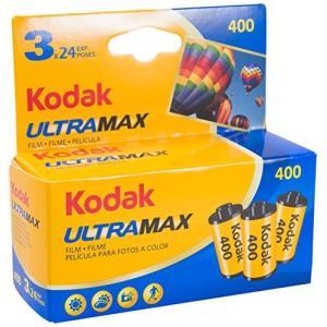 Kodak カラーネガフィルム ULTRAMAX 400 35mm 24枚撮 3本セット 60340...