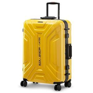 LUSHBERRY スーツケース 大型 人気 鏡面 アルミフレーム 超軽量 カッコイイ 可愛い キャ...
