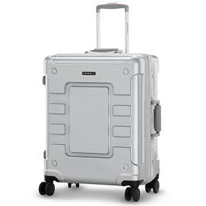 LUSHBERRY スーツケース 大型 カモフラ 人気 鏡面 アルミフレーム 派手 超軽量 カッコい...