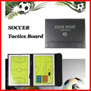 送料無料 サッカー フットサル ボール 作戦盤 折りたたみ タクティクス コーチング ボード ペンセット B