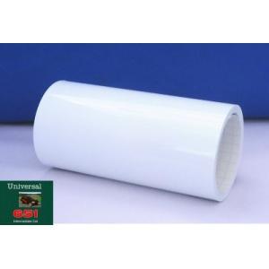 ホワイト光沢 40cm幅×5m巻 屋外5〜6年カッティング用シート(車/デカール)|hmfshop