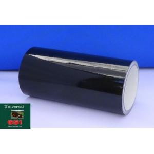 ブラック光沢 40cm幅×5m巻 屋外5〜6年カッティング用シート(車/デカール)|hmfshop