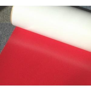 【ラバープリントシート】一枚=20cm幅×63cmレッド|hmfshop