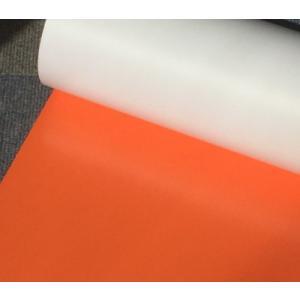 【ラバープリントシート】一枚=20cm幅×63cmオレンジ|hmfshop