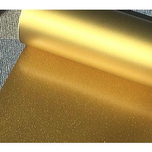 【ラバープリントシート】一枚=20cm幅×63cmラメ入りゴールド|hmfshop