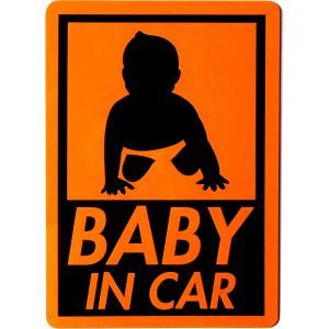 カーマグネット BABY IN CAR 角丸長方形