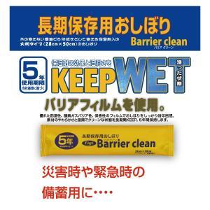 Barrier clean 長期保存用おしぼり(個包装で50本入り) hmstylestore