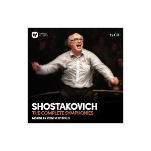 Shostakovich ショスタコービチ / 交響曲全集 ムスティスラフ・ロストロポーヴィチ&ワシントン・ナショナル交 hmv