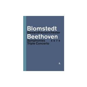 Beethoven ベートーヴェン / 交響曲第5番、第6番、第7番、第9番、三重協奏曲 ヘルベルト・ブロムシュテット& hmv