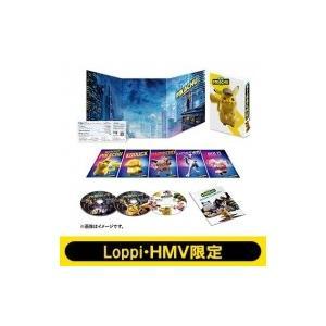 【HMV・Loppi限定 アクリルキーホルダー付き】名探偵ピカチュウ 豪華版 Blu-ray & DVD セット  〔BLU-RAY DISC〕