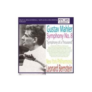 Mahler マーラー / 交響曲第8番『千人の交響曲』 レナード・バーンスタイン&ニューヨーク・フィル(1965年モ hmv