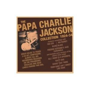 Papa Charlie Jackson / Collection 1924-34 (3CD) 輸入盤 〔CD〕|hmv