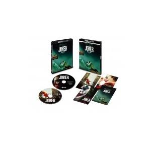 【初回仕様】ジョーカー <4K ULTRA HD & ブルーレイセット>(2枚組/ポストカード付)  〔BLU-RAY DISC〕