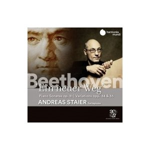 Beethoven ベートーヴェン / 新しい道〜ピアノ・ソナタ第16番、第17番『テンペスト』、第18番、エロイカ変奏曲、|hmv