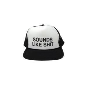 Hi-standard ハイスタンダード / SOUNDS LIKE SHIT メッシュCAP BLACK  〔Goods〕|hmv