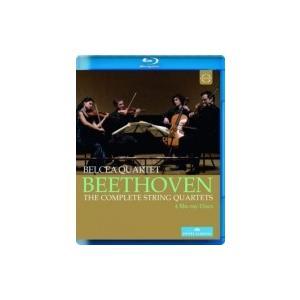 Beethoven ベートーヴェン / 弦楽四重奏曲全集 ベルチャ四重奏団(2012年ウィーン・ライヴ)(4BD)  〔BLU-RAY DISC|hmv