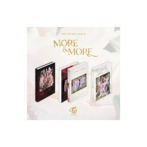 TWICE / 9th Mini Album:  MORE  &  MORE (ランダムカバー・バージョン)  〔CD〕 hmv