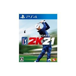 Game Soft (PlayStation 4) / 【PS4】ゴルフ PGAツアー 2K21  〔GAME〕|hmv