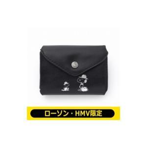 SNOOPY 三つ折り財布 BOOK BLACK【ローソン・HMV限定】 / ブランドムック   〔ムック〕|hmv