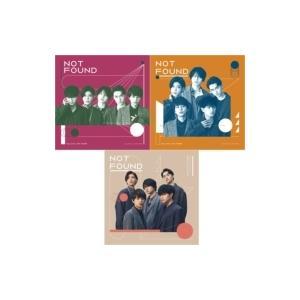 Sexy Zone / 《3形態同時購入特典付き》 NOT FOUND  〔CD Maxi〕|hmv