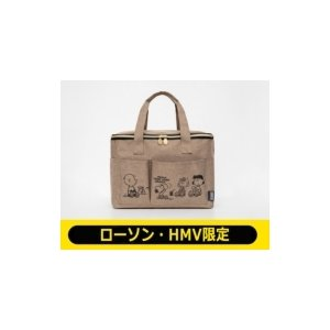 SNOOPY マルチに使えるBIGピクニックバッグ BOOK peanuts friends【ローソ...