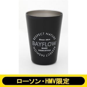 BAYFLOW CUP COFFEE TUMBLER BOOK MATTE BLACK 【ローソン・...
