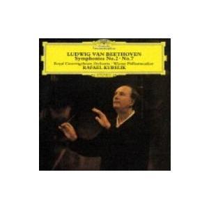 Beethoven ベートーヴェン / ベートーヴェン:交響曲第2番&7番 ラファエル・クーベリック 国内盤 〔CD〕 hmv