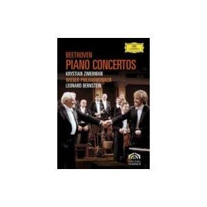 Beethoven ベートーヴェン / ピアノ協奏曲全集 ツィマーマン(p)バーンスタイン&ウィーン・フィル(2DVD)  〔D