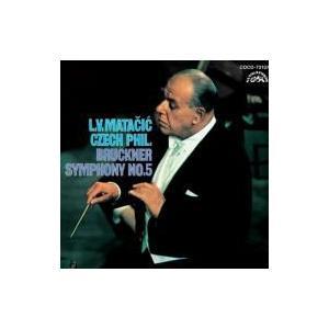 Bruckner ブルックナー / 交響曲第5番 マタチッチ&チェコ・フィル  〔Blu-spec CD〕 hmv