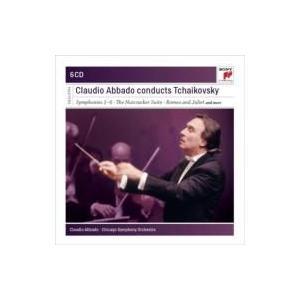 Tchaikovsky チャイコフスキー / 交響曲全集、管弦楽曲集 アバド&シカゴ交響楽団(6CD限定盤) 輸入盤 〔CD