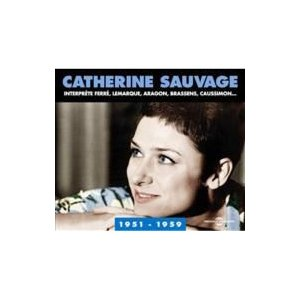 Catherine Sauvage / Anthologie 1951-1959 輸入盤 〔CD〕