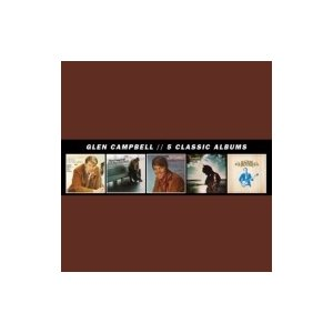 Glen Campbell グレンキャンベル / 5 Classic Albums 輸入盤 〔CD〕 hmv