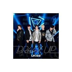 初回限定盤 U-kiss ユーキス / Break up (CD+DVD) 【ジャケットA  /  初回生産限定盤】  〔CD Maxi〕