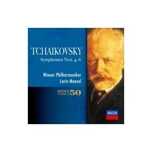 Tchaikovsky チャイコフスキー / 交響曲第4番、第5番、第6番『悲愴』 マゼール&ウィーン・フィル(2CD