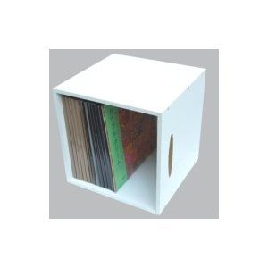 LPレコード用ラック 1マスタイプ(White)  〔Goods〕|hmv