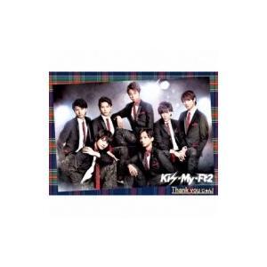 Kis-My-Ft2 キスマイフットツー / Thank youじゃん! (+DVD)【初回限定盤A ★豪華特殊パッケージ仕様】  〔CD Maxi〕