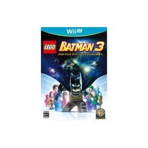 Game Soft (Wii U) / LEGO(R) バットマン3 ザ・ゲーム ゴッサムから宇宙へ  〔GAME〕|hmv