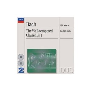 Bach, Johann Sebastian バッハ / 平均律クラヴィーア曲集第1巻 グルダ(2CD) 輸入盤 〔CD〕|hmv