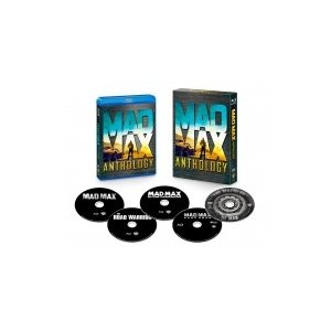 【初回限定生産】マッドマックス アンソロジー ブルーレイセット(5枚組/デ ジタルコピー付)  〔BLU-RAY DISC|hmv