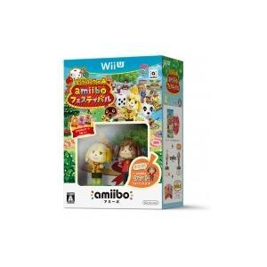 Game Soft (Wii U) / どうぶつの森 amiiboフェスティバル(初回版ケント付き)  〔GAME〕|hmv