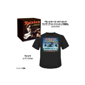 Rainbow レインボー / Monsters Of Rock:  Live At Donington 1980 (2CD+DVD)(+Tシャツ)(限定盤) 国内盤 〔CD〕|hmv