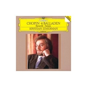 Chopin ショパン / 4つのバラード、幻想曲、舟歌 クリスティアン・ツィマーマン 国内盤 〔SHM-CD〕 hmv