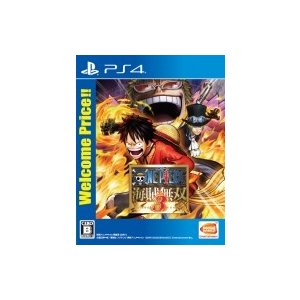 Game Soft (PlayStation 4) / 【PS4】ワンピース 海賊無双3 Welcome Price!!  〔GAME〕|hmv