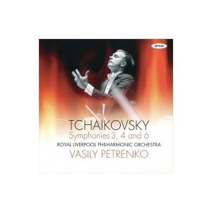 Tchaikovsky チャイコフスキー / 交響曲第6番『悲愴』、第4番、第3番 ワシリー・ペトレンコ& ロイヤル・リヴァ