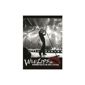 """吉川晃司 キッカワコウジ / KIKKAWA KOJI Live 2016""""WILD LIPS""""TOUR at 東京体育館 【初回限定盤】 (DVD+CD)  〔DVD〕"""