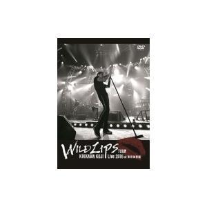"""吉川晃司 キッカワコウジ / KIKKAWA KOJI Live 2016""""WILD LIPS""""TOUR at 東京体育館 【通常盤】 (DVD)  〔DVD〕"""