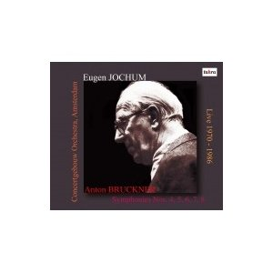 Bruckner ブルックナー / 交響曲第4, 5, 6, 7, 8番 オイゲン・ヨッフム& コンセルトヘボウ管弦楽団(1970-1986)(6CD) 輸