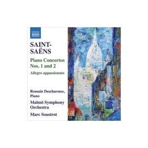 Saint-Saens サン=サーンス / ピアノ協奏曲第1番、第2番、アレグロ・アパッショナート ロマン・デシャルム、マ